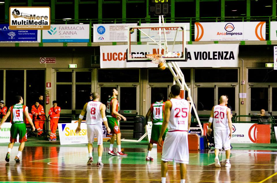 Pallacanestro Lucca vs Paffoni Omegna